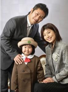 長野市フォトスタジオ 家族写真
